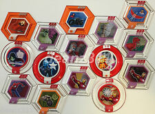 DISNEY INFINITY 2.0 MARVEL SUPER HEROES POWER DISCS - PICK FROM LIST inc. RARES!