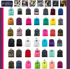 SUPERBREAK T501 JANSPORT Backpack Student Book Bag School JanSport Black Navy