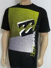 Billabong Slice Wave Tee Mens Black Organic Cotton Blend T-Shirt New NWT