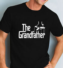 The Grandfather Shirt Godfather Style Grandad Tee All Sizes Small To 6XL