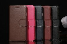 Flip Wallet Genuine Leather Skin Stand Case Cover For Apple iPhone 6 6S / Plus