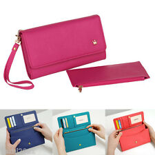 Women String Leather Handbag Wallet Case Cover For iPhone 6 Plus 4.7 5.5 Purse