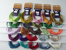 1 MM RAT TAIL SATIN CORD 12YARDS BEAD SMITH FOR KUMIHIMO BRAIDING & NECKLACES