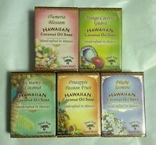 Hawaiian Coconut Oil Soap-Tropical Fragrance/Natural Color/Handcrafted In Hawaii