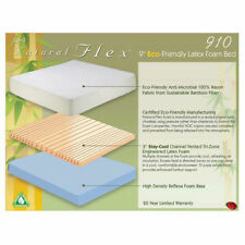 Boyd Engineered Latex 910 Mattress w/ Bamboo Cover and Cool Venting! All SIzes!