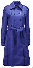 New Ladies Ex Debenhams Collection Trench Coat Mac -Stone,Blue, Black Sizes 8-20