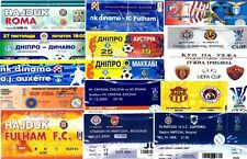 UEFA CUPS VARIOUS TICKETS !!! SEASONS 2002 – 2009 !!! SELECT FROM LIST…