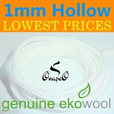 GENUINE EKOWOOL Hollow Braided Silica Wick 1mm Authorized Distributor eCig