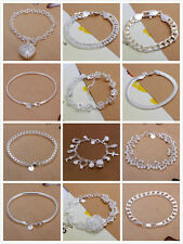 Hot Sale silver jewellery bracelet/Bangle fashion cheap jewelry