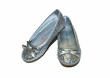 GIRL'S SILVER GLITTER SHOES SIZES 8-13 - SUMMER SALE!!!