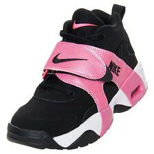 NIKE AIR VEER 599213 BLACK/PINK FLASH-WHITE 7/7y/cm 25 WOMENS 8.5 CROSS TRAINERS