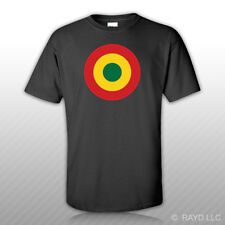 Ghana Air Force Roundel T-Shirt Tee Shirt Free Sticker Ghanaian GHF GHA GH