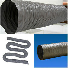 """10"""" Flexible Duct Hose 10 inch PVC DUCTING Air HOSE 35ft EXHAUST AIR VENT Pipe"""
