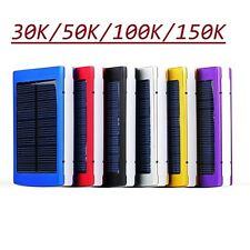 Solar Portable External Power Bank Backup Battery Charger For Samsung Iphone