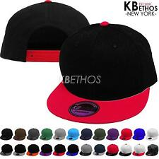 New Fashion Blank Plain Snapback Hats Hip-Hop Adjustable BBoy Baseball Cap