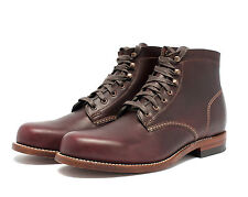 WOLVERINE 1000 MILE BOOT CORDOVAN NO.8 W00137 MADE IN THE USA  *FREE CARE KIT*