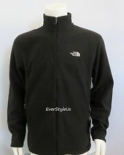 NWT The North Face Men's Contrail Full Zip Fleece Jacket TNF Black