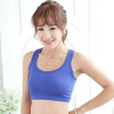 Strap Chest Wrap GYM Sports Bra Tube Crop Top Casual Vest Underwear 9 Color D16