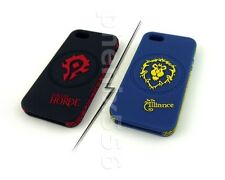 New World of Warcraft Phone Case for Phone 5/5S Alliance & Horde WOW Phonecase