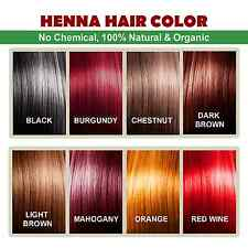 Henna Hair Color – 100% Organic and Chemical free Henna for Hair