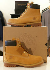 Sizes UK 6-12.5 Genuine Authentic Mens Timberland Boots 6 inch prem Wheat 10061