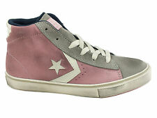 CONVERSE Pro Leather Vulc Mid sneakers alte lacci PELLE DUST PINK D GREY 646661C