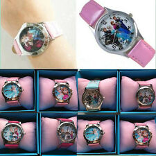 Hot sale Frozen movie Disney children kids Xmas gift lovely Wrist Watch