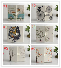 Flower Magnetic wallet Leather cover case for Samsung Galaxy Young 2 SM-G130 #4
