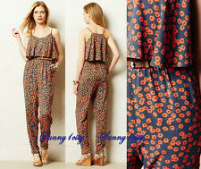 NEW L Anthropologie Curieuse Jumpsuit By Lilka, Soft and adorable $98 Rare!