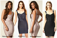 ♥ FRENCH CONNECTION FCUK ♥ RRP £150 BELLA BEADED BODYCON COCKTAIL PENCIL DRESS