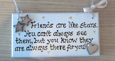 Personalised Friend wooden plaque - wonderful gift for a best friend!