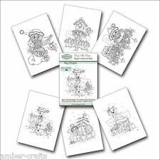 The Hobby House Ready to Colour Art Book - Daisy Mae Draws