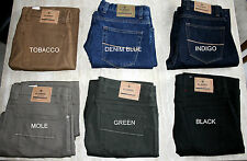 Marks&Spencer Blue Harbour Luxury Mens Stretch Jeans 6Colours Size30-50 RRP £39