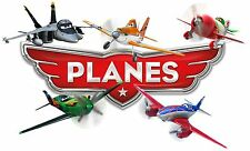 """DISNEY PLANES wall stickers (choice of 14 images in 2 sizes) """"DISCOUNTS"""""""