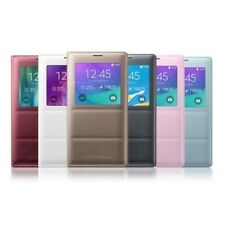 Official Samsung Galaxy Note 4 S View Flip Cover Case