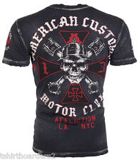 AFFLICTION Mens T-Shirt IRON American Customs Fight Biker Club MMA UFC S-4XL $58