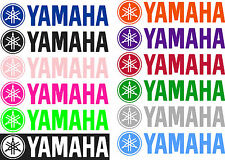 "6"" 10"" 12"" 18"" 23"" YAMAHA RACING Truck Trailer Window Bike Decal Sticker CHOOSE"