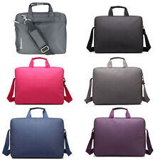 """15.4"""" Padded Laptop Shoulder Bag Widescreen Carry Case Notebook Briefcase"""