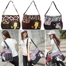 3 in 1 Baby Diaper Nappy Changing Bag Changing Mat Mummy Tote Handbag Functional