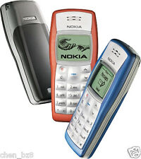 Nokia 1100 Original Unlocked Cell Phone With Warranty Black / Blue / Red / White