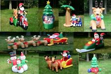 9 Style Image Christmas Lighted Airblown Inflatable Santa Outdoor 10' 6' 5' 4'