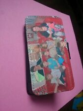 PERSONALISED PRINTED Phone Flip Wallet leather Case  for Samsung Galaxys