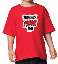 Zombies Fear Me! - Youth Shirt