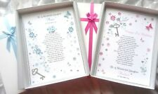 Girls 18th/21st Birthday Card. Pretty Female Personalised Special Boxed keepsake