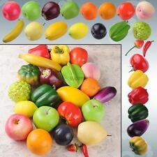 Fruit Vegetable Artificial Faux Fake Prop Staging Theater Bell Peppers Tomatoes