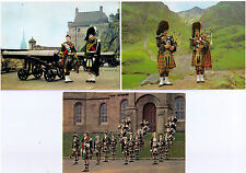 MILITARY PIPER POSTCARD DRUM MAJOR PIPE BAND HIGHLAND DANCERS POSTCARDS ASSORTED
