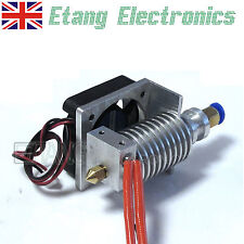 Bowden All Metal 3D Printer J-Head Hot End 0.2-0.5mm Nozzle Extruder with Fan