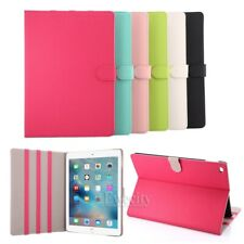 Fashion Colors Folio Leather Stand Smart Case Cover For Apple iPad