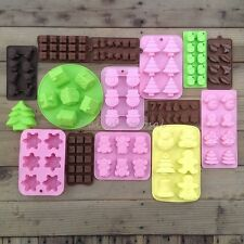 15+ Christmas Soap Bake Cake Ice Chocolate Candy Mold Silicone Homemade Mould