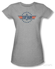 Juniors: Top Gun - Star Logo T-Shirt Heather